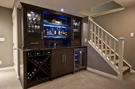 built in wine bar cabinets simple wine bar storage basement with black and white decoration