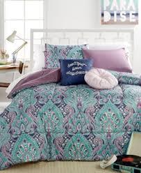 Full Xl Comforter Sets Ava Blossom 5 Pc Comforter Sets Bed In A Bag Bed U0026 Bath Macy U0027s