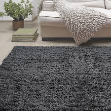 Home Depot Area Carpets Lanart Palazzo Shag Charcoal 6 Ft X 9 Ft Area Rug Rope6x9ch