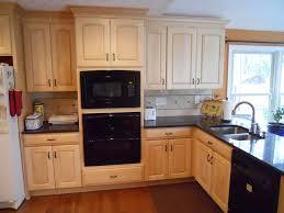 kitchen amusing natural maple kitchen cabinets granite appealing