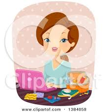 royalty free rf sewing clipart illustrations vector graphics 1