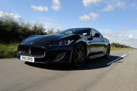 maserati granturismo dark blue maserati granturismo mc stradale first drives auto express