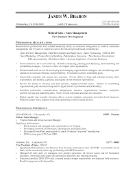 Insurance Resume Format Medical Device Sales Resume Samples Splixioo