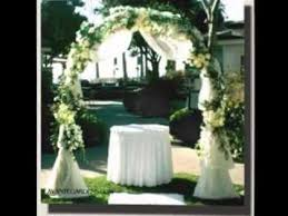 wedding arch decorations easy wedding arches decorations