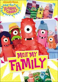Images Of Yo Gabba Gabba by Amazon Com Yo Gabba Gabba Meet My Family Yo Gabba Gabba