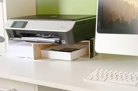 Easy Diy Desk Easy Diy Desktop Printer Shelf Time With Thea