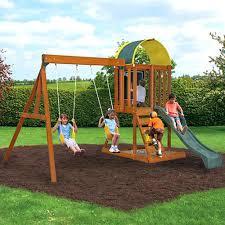 Wooden Backyard Playsets Backyard Playground Slides U2013 Dawnwatson Me
