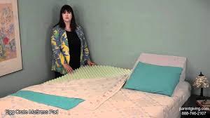 egg crate mattress pad valvm7220hb youtube