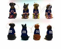 chicago bears team ornaments