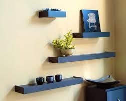 Modern Wall Bookshelves Bedroom Charming White Floating Wall Shelf Decorative Shelves