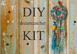 Make Your Own Home Decor Blue Dream Catcher Diy Home Projects Diy Home Decor How To Make