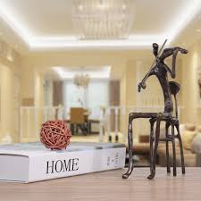 Metal Home Decor Best And Cheap Bronze Violin Playing Modern Performance Bronze