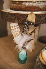 bohemian birthday ideas feathers jar and boho