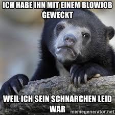 Blowjob Meme - ich habe ihn mit einem blowjob geweckt weil ich sein schnarchen