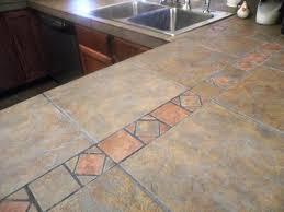 Tile Kitchen Countertops Ideas Tile Kitchen Countertop Ideas And Pictures Color Design