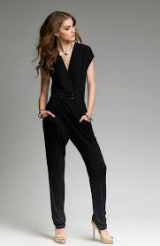casual jumpsuit black pair of overalls black jumpsuit