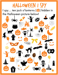 Free Printables For Halloween by I Spy Halloween Simple Play Ideas