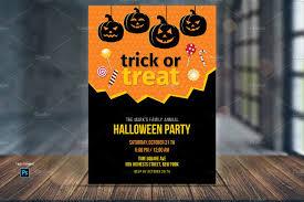 trick or treat candy invite template invitation templates