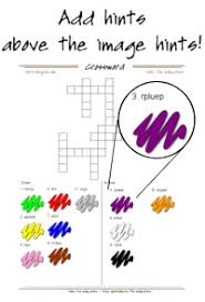 crossword puzzle maker printable crosswords with images or text