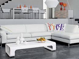 canape cuir blanc angle canapé cuir blanc idées de décoration intérieure decor