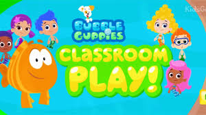 bubble guppies cartoon game classroom play bubble guppies full
