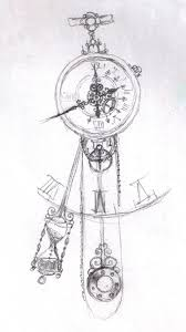 57 best clock tattoo sketches images on pinterest clock tattoos