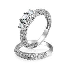 wedding ring sets his and hers cheap wedding rings cheap bridal sets his and hers matching wedding