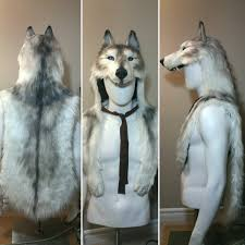 faux wolf headdress by maryamdn on deviantart