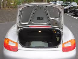 porsche trunk 2002 used porsche boxster 2dr roadster tiptronic at porsche