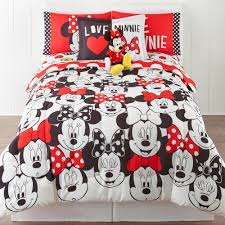Minnie Mouse Twin Comforter Sets Cartoon Comforters And Movie Tv Characters Bedding For Kids