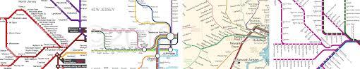 Newark Map My Favorite Regional Transit Maps