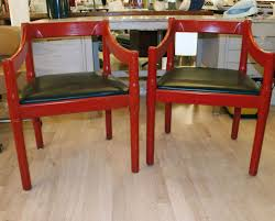 carver chairs by vico magistretti 1960s set of 2 for sale at pamono