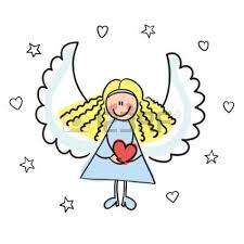 free printable angel coloring pages for kids clip art library
