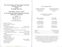 wedding church program template template church wedding program template free printable programs