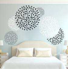 wall stencils for bedroom wall stencils bedroom beautiful wall accent decals zoom butterfly