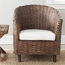 Rattan Accent Chair Wicker Accent Chairs Hayneedle