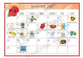 thanksgiving calendar bootsforcheaper