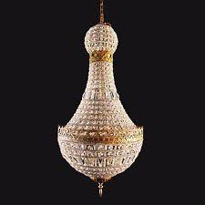 French Empire Chandelier Lighting Empire Crystal Chandeliers U0026 Ceiling Fixtures Ebay