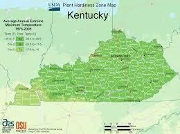 Map Of Kentucky State by Kentucky Plant Hardiness Zone Map U2022 Mapsof Net
