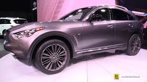 infiniti qx70 2017 infiniti qx70 limited exterior and interior walkaround