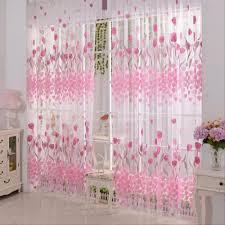 Bedroom Window Curtains Popular Floral Printed Curtains In Set Buy Cheap Floral Printed