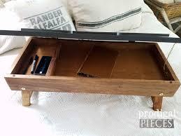 Diy Lap Desk Repurposed Piano Bench Lap Desk Prodigal Pieces