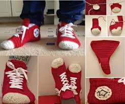 pattern crochet converse slippers knitted slippers pattern the sweetest ideas converse slippers