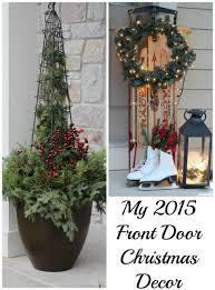 my front door at christmas momcrieff