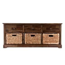 rustic storage benches joss u0026 main