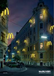 Print Advertisement Idea Design Mcdonald U0027s Mcdelivery Ads Of The World Niceads Pinterest