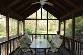 extraordinary sloping ceiling for enclosed decks with screen porch
