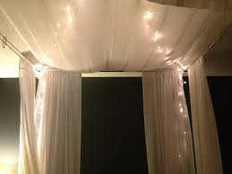 canopy bed with christmas lightsdiy square mpgyzg tikspor canopy bed with christmas lightsdiy square mpgyzg