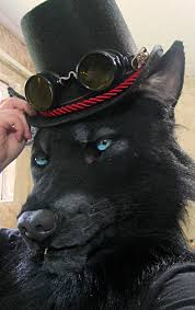 Werewolf Mask Werewolf Mask With A Tophat By Crystumes On Deviantart