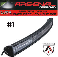 Led Curved Light Bar by Amazon Com 1 42 Inch Curved 240w Cree Led Light Bar By Arsenal